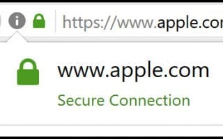 example of IDN code in address bar