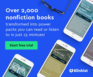 Blinkist offer