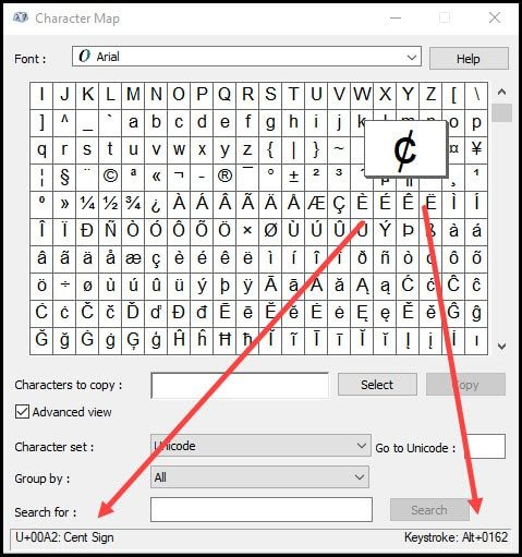 Inserting Special Character Codes Productivity Portfolio