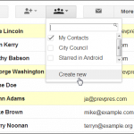 Create Distribution Lists in Gmail