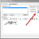 Create an Outlook Image Signature