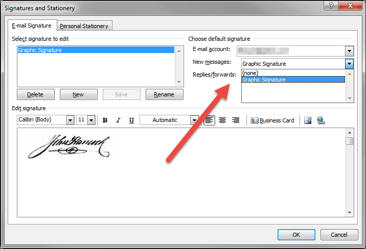 Create an Outlook Image Signature • Productivity Portfolio