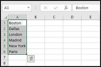 adding values for custom list
