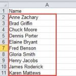 How to Parse Full Names in Excel