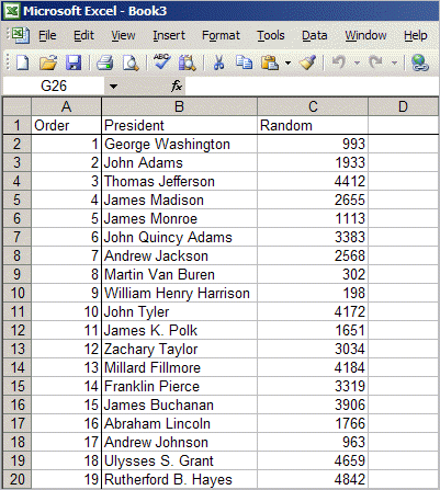 Easy Way to Make Random Numbers with Excel • Productivity