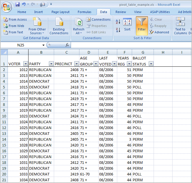 Excel Pivot Table Tutorial & Sample | Productivity Portfolio