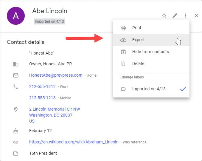 Test Before You Import Contacts to Gmail • Productivity Portfolio