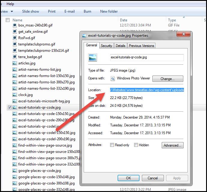 windows file properties