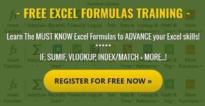 Excel formulas webinar