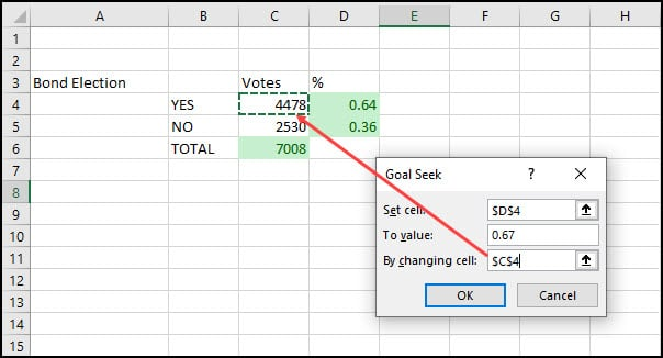 Use Excel Goal Seek For Quick Answers | Productivity Portfolio