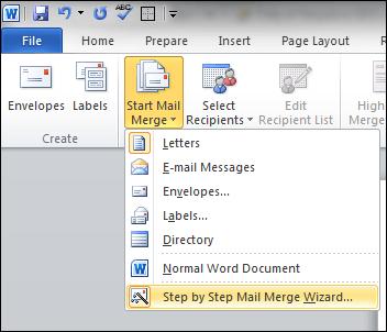 Word mail merge tutorial using excel data productivity portfolio stopboris Images