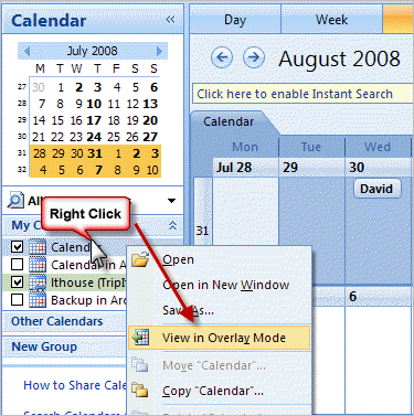 Merge Microsoft Outlook Calendars • Productivity Portfolio