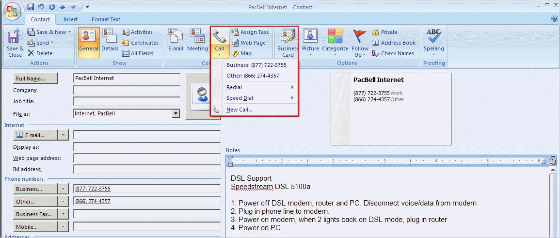 Use Outlook to Document Phone Calls | Productivity Portfolio
