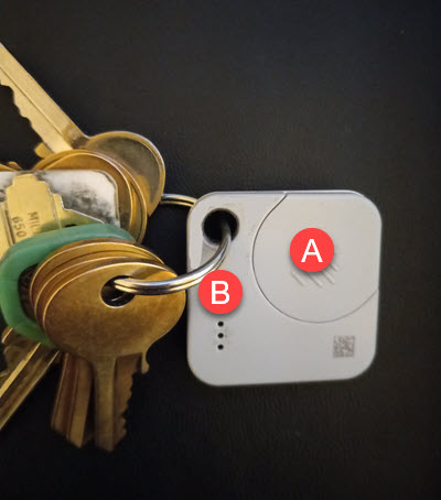 My Key Ring With Tile