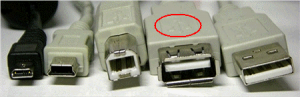 USB cable connector picture