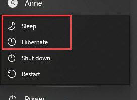 Understanding Differences Between Windows Hibernate and Sleep